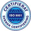 Svensk Certifiering ISO 9001